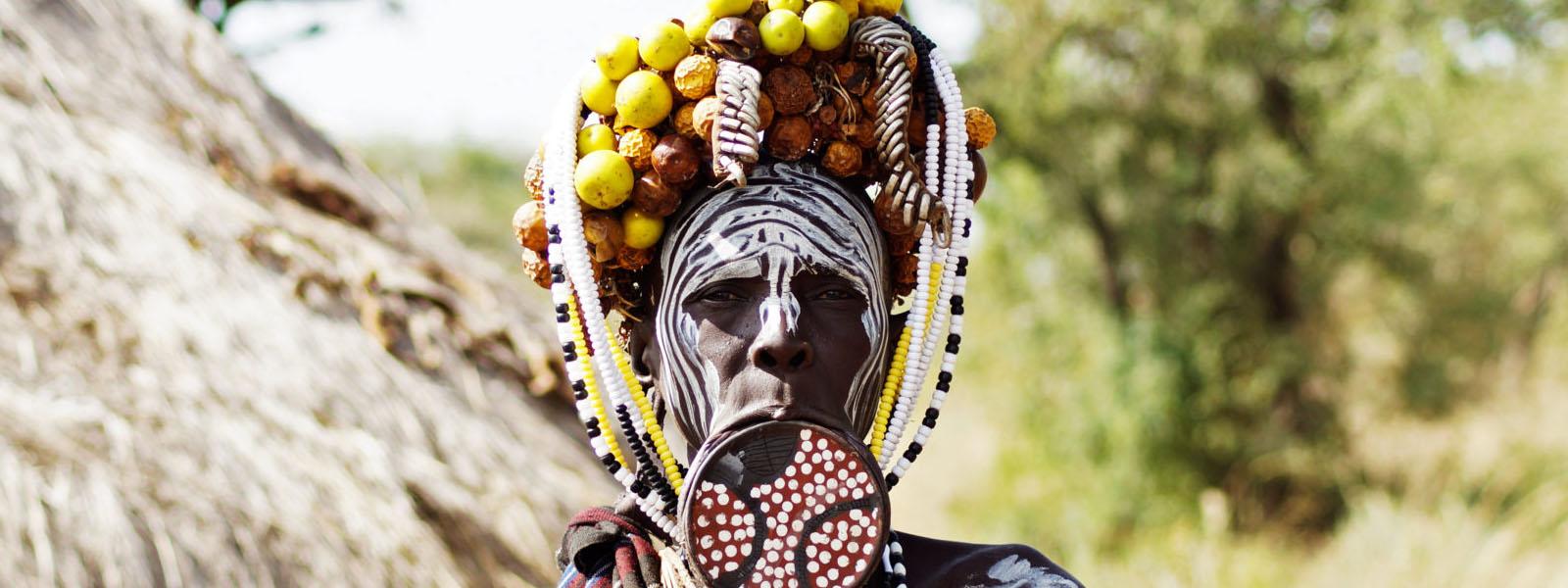 Mursi People Tribe Omo Valley Ethiopia – Lip Plate People 2